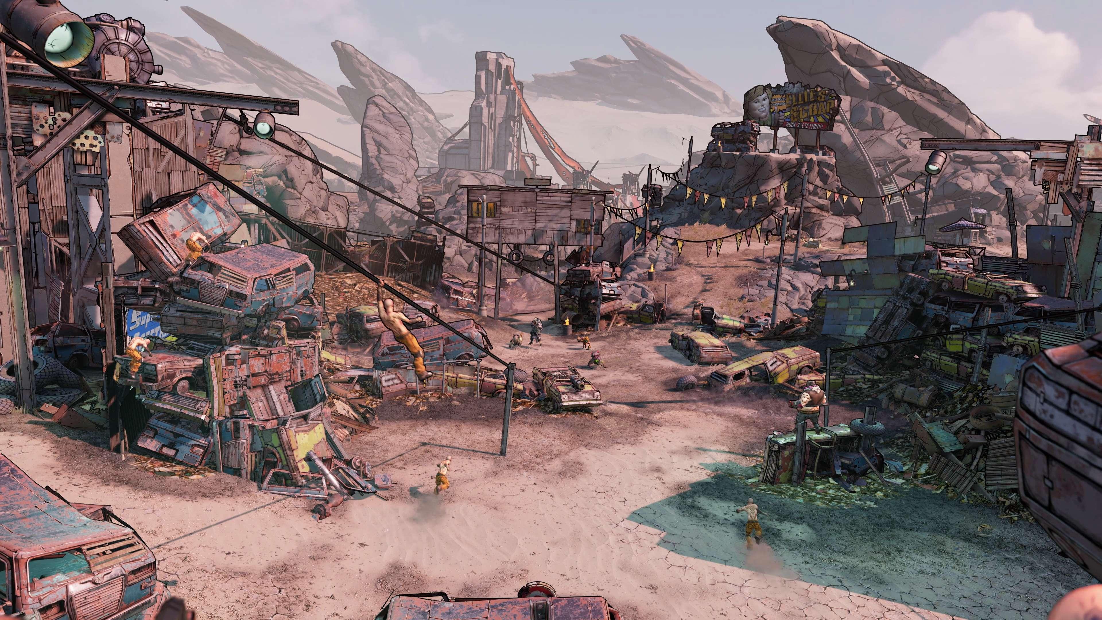 《无主之地3》技能树上线 技能搭配丰富选择自由度高