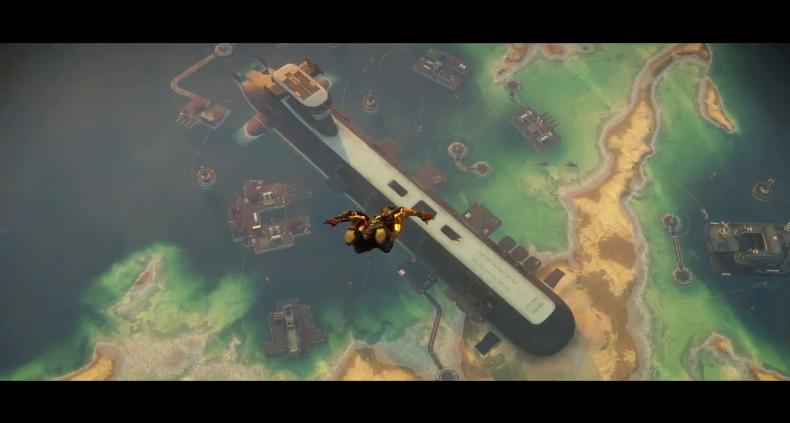 滑板技术秀到飞起!《正当防卫4》公布新DLC预告
