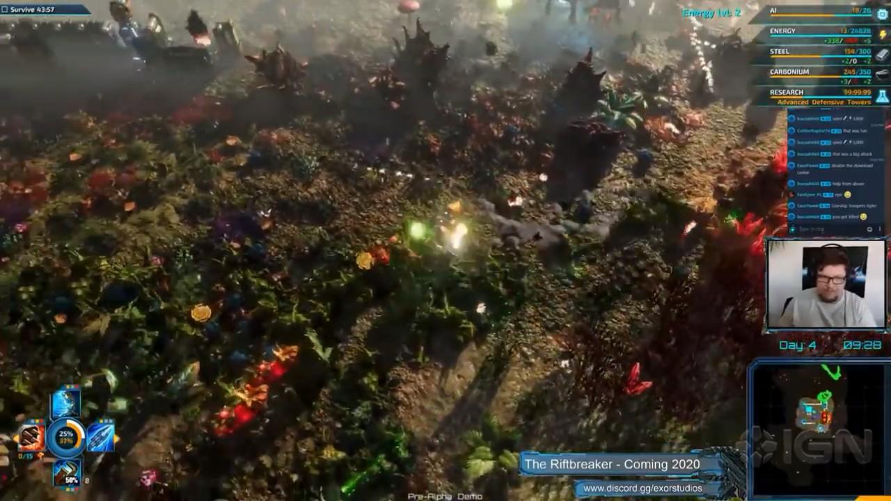 《裂缝破坏者》25分钟实机演示 生存+机甲RPG新花样