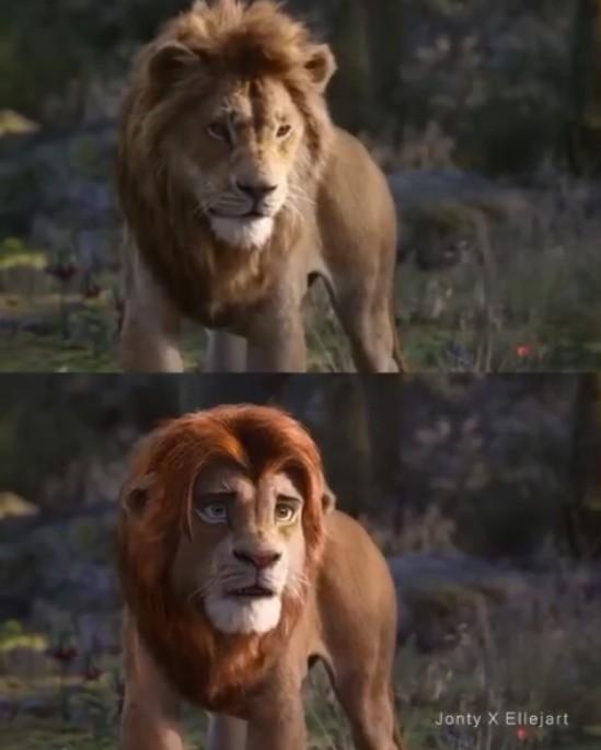 真狮版《狮子王》还原老版动画 比电影好太多