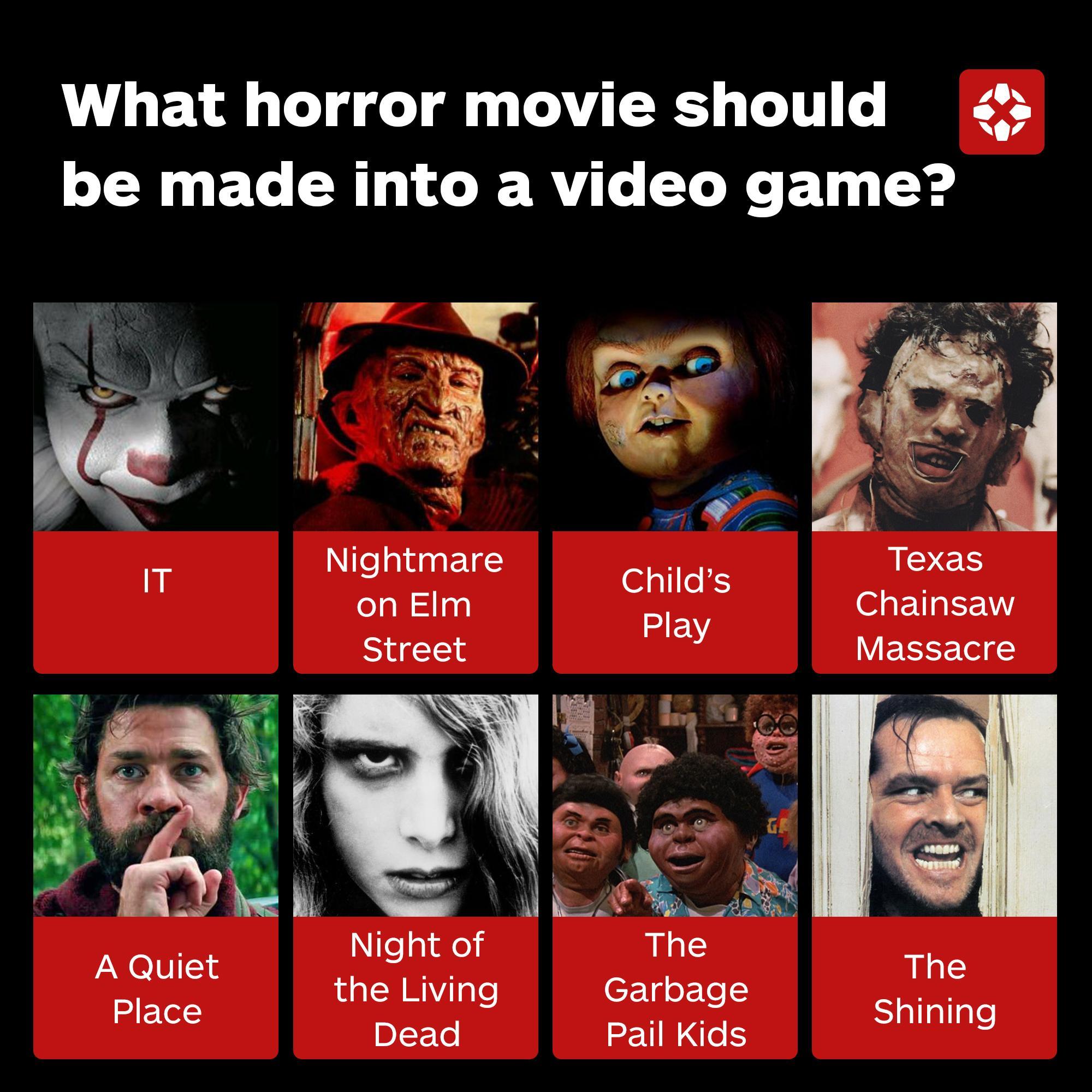 恐怖片回暖 IGN调查什么恐怖片该被改编成游戏
