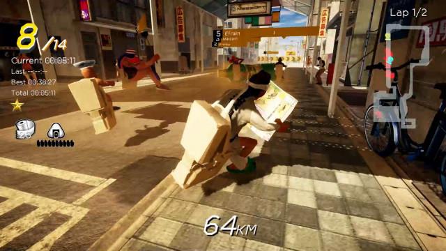 日本沙雕游戏《激走!马桶竞速》发售日公布 登陆Steam不支持中文