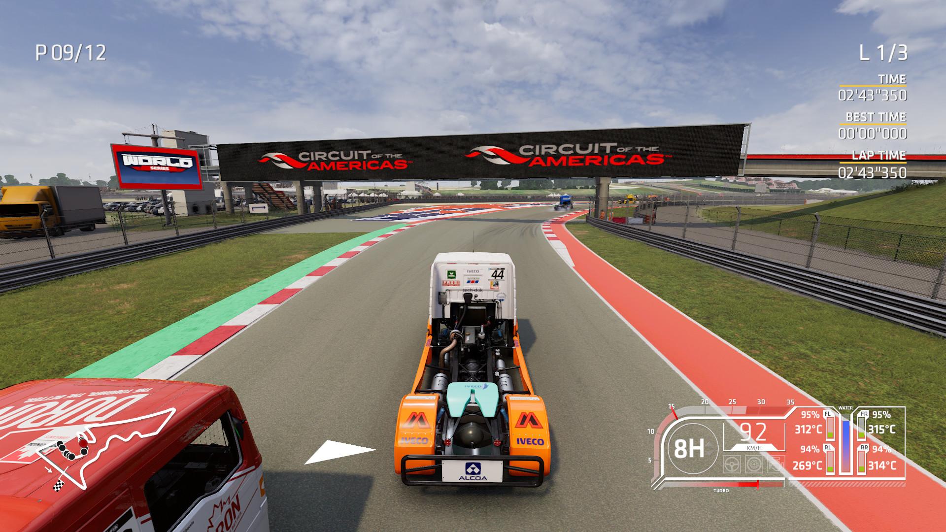 《FIA欧洲卡车锦标赛》Steam褒贬不一  卡车真的不好开