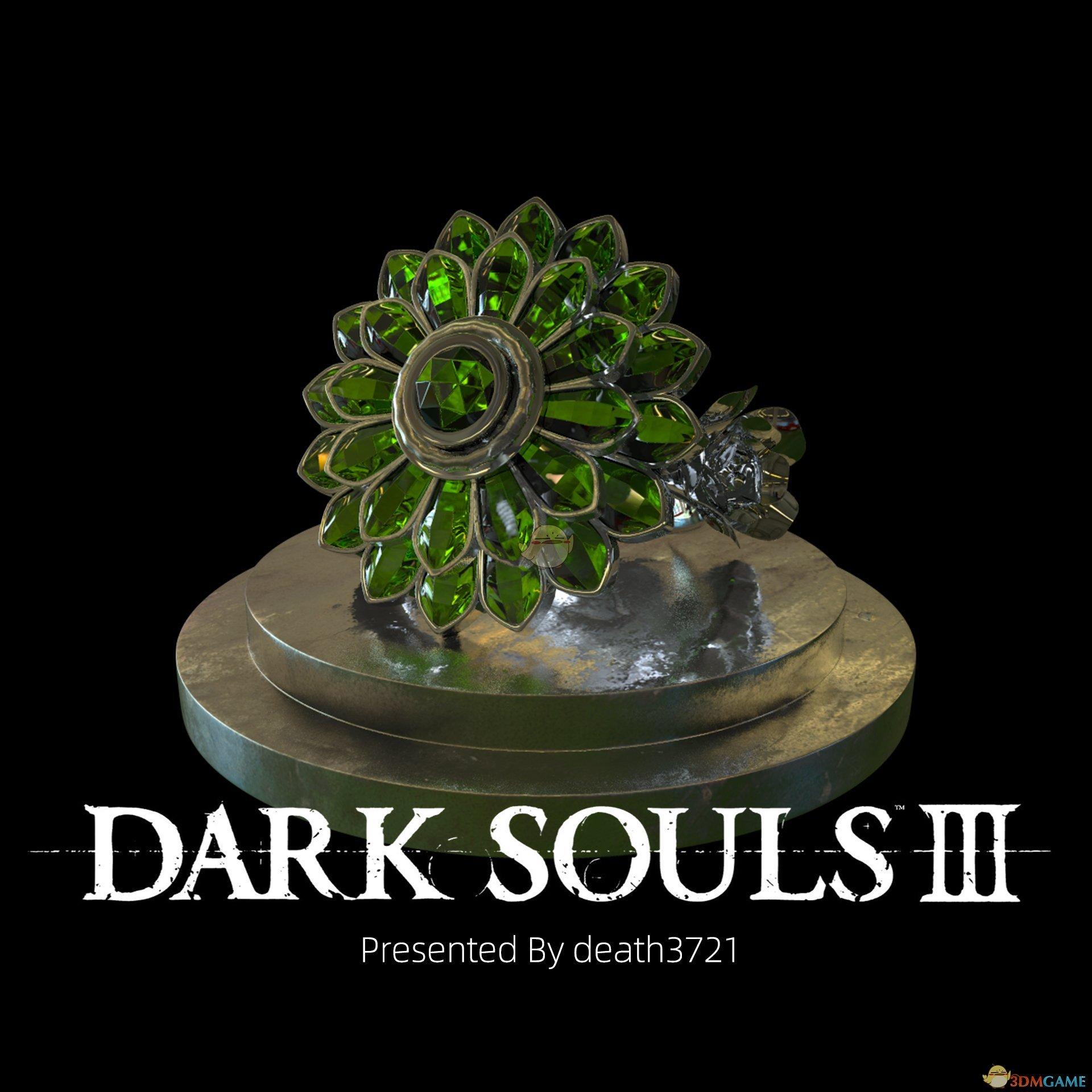 《Wallpaper Engine》黑暗之魂3D建模绿花戒指动态壁纸