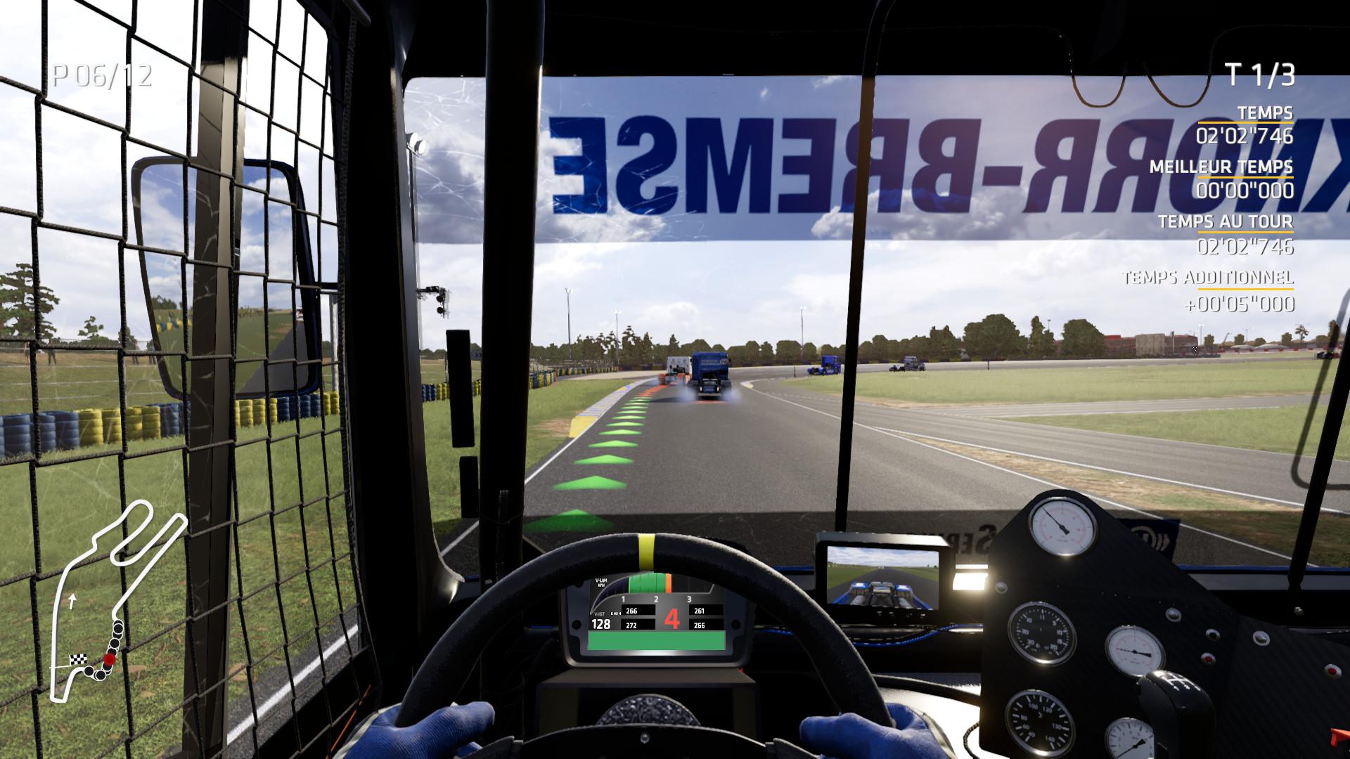 《FIA欧洲卡车锦标赛》游戏演示 激烈刺激的卡车比拼