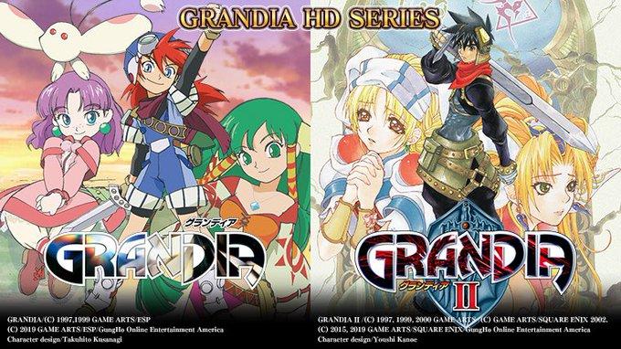 《格兰蒂亚HD合集》确定将推本源日版 新截图放出