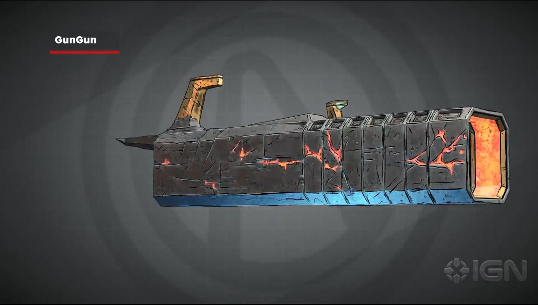 《无主之地3》枪械实机演示片段放出 枪妈妈生仔设定有趣