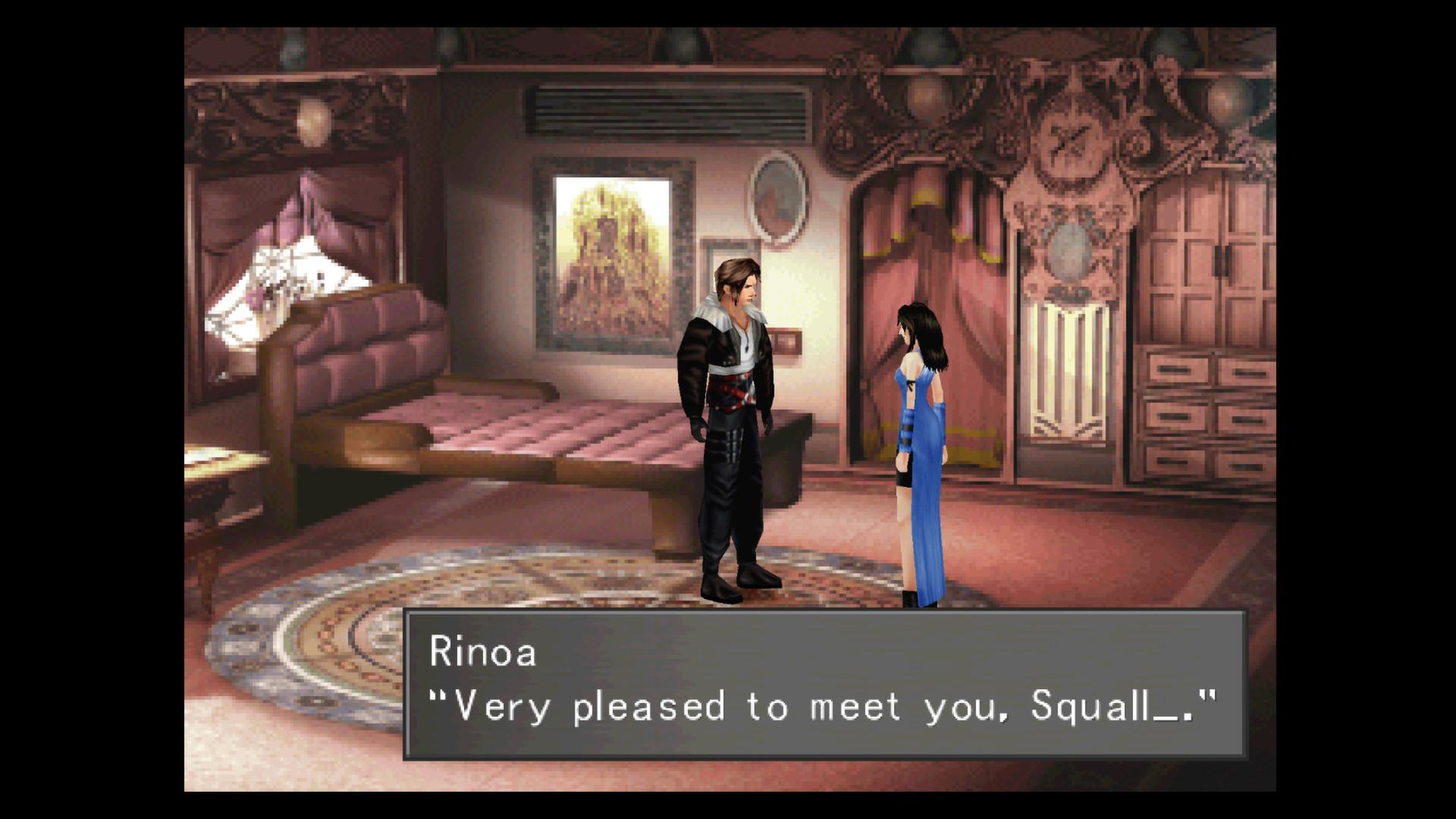 《最终幻想8:重制版》新画面公布 经典梗就这样消失了
