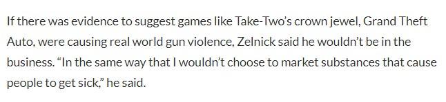 T2 CEO:《GTA》要能导致枪击 我就不会干这行 新主机会有照片级画质