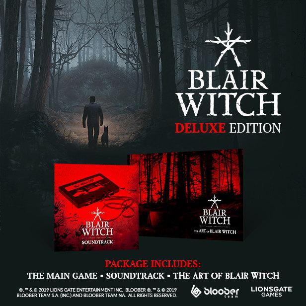 《布莱尔女巫》Steam预购价90元 可免费升级至豪华版