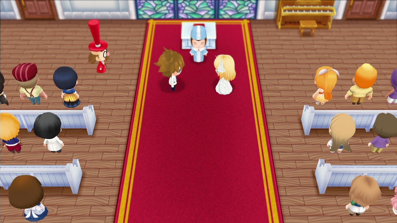 可爱的护士小姐 《牧场物语:重聚矿石镇》结婚候补影像公开