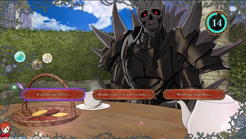 和死神骑士喝茶?《火焰纹章风花雪月》奇葩茶会一览