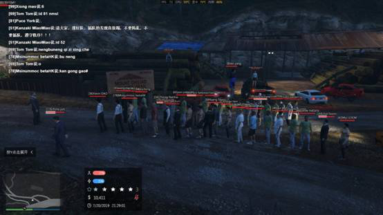 GTA5联机新玩法,实现真正的多人在线