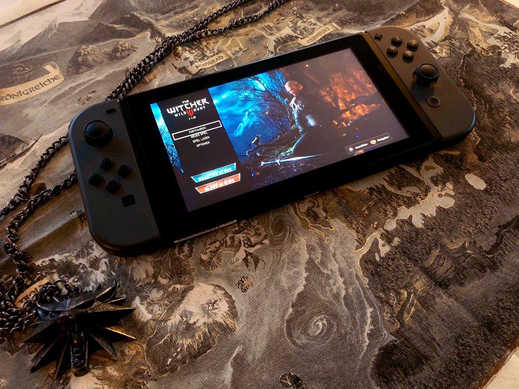 即将亮相科隆展 《巫师3》Switch版实机截图公开