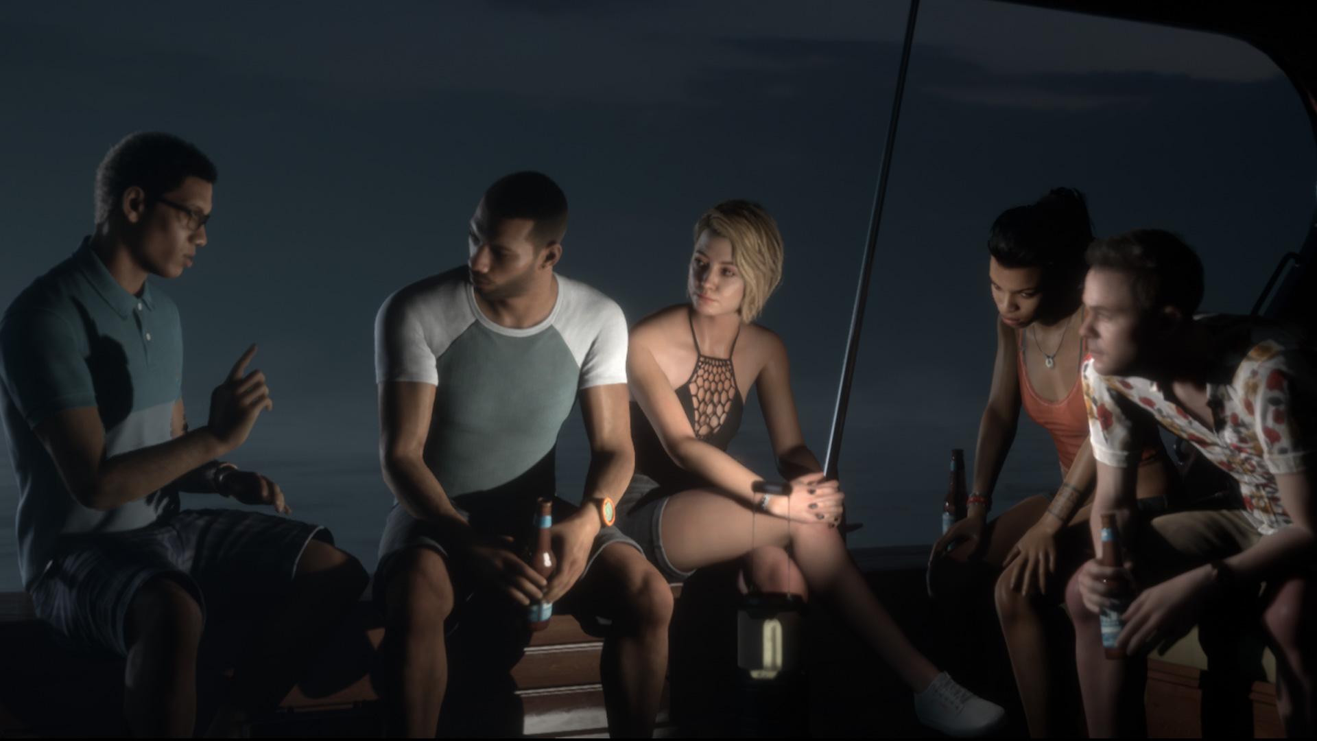 电影式恐怖游戏 《黑相集:棉兰号》超长多人模式试玩视频