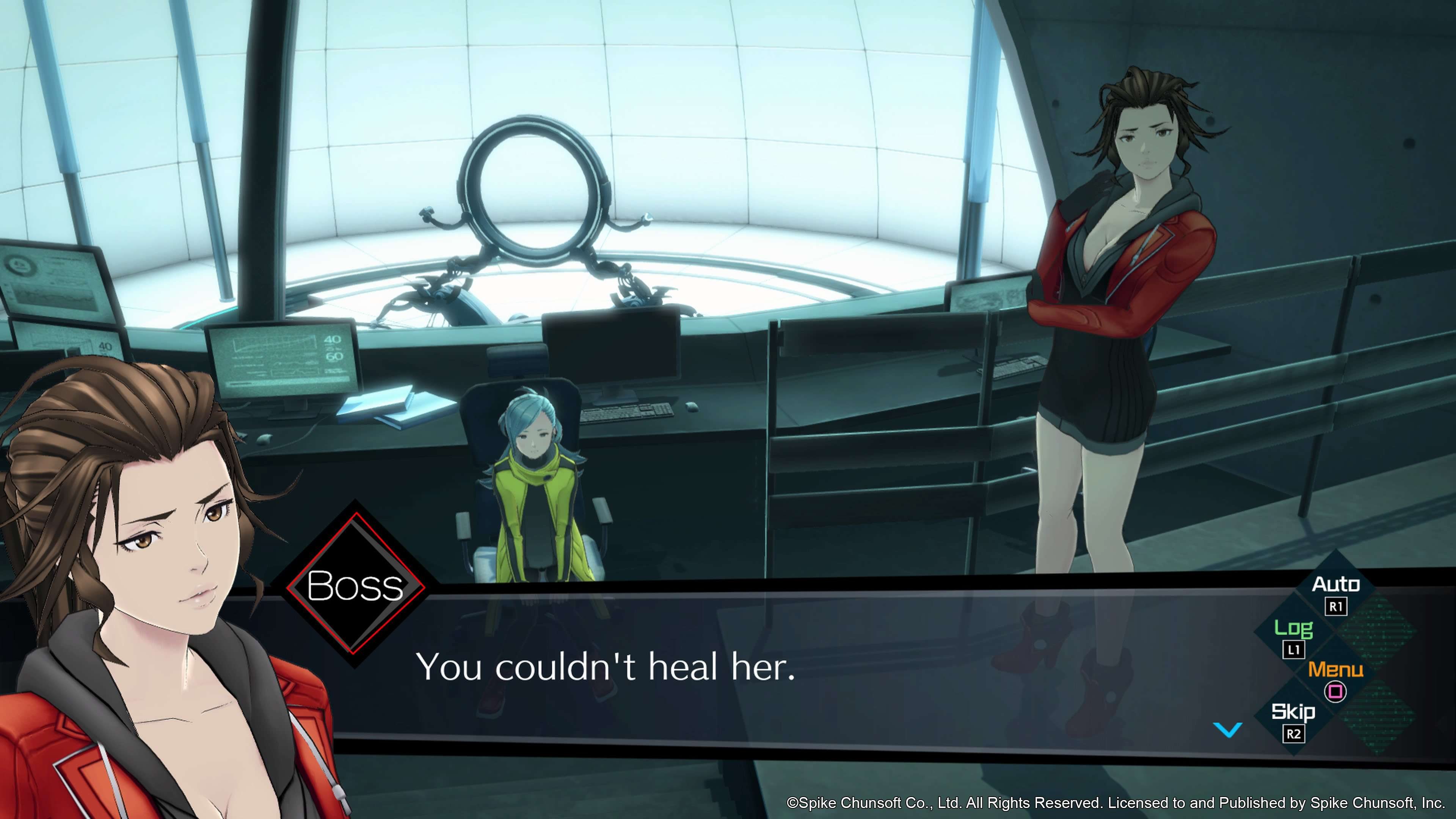 打越钢太郎新作《AI:梦境档案》新截图展示游戏界面
