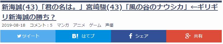 大器晚成永载动画史!扒一扒新海诚宫崎骏43岁成名神作