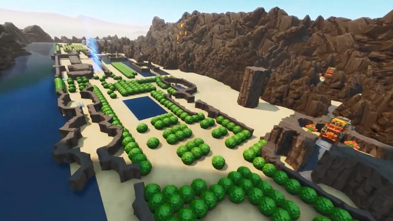纯爱粉用《堡垒之夜》搭建《塞尔达传说》初代9大迷宫