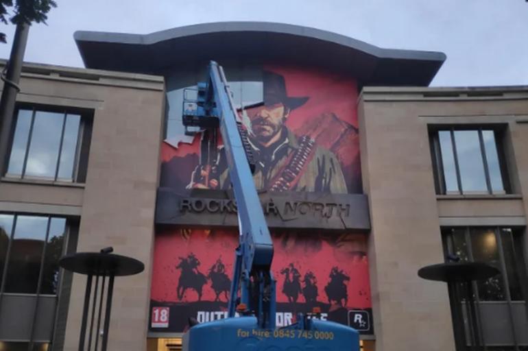 R星换下《荒野大镖客2》广告横幅 难道新作要来了?是《恶霸鲁尼2》吗?