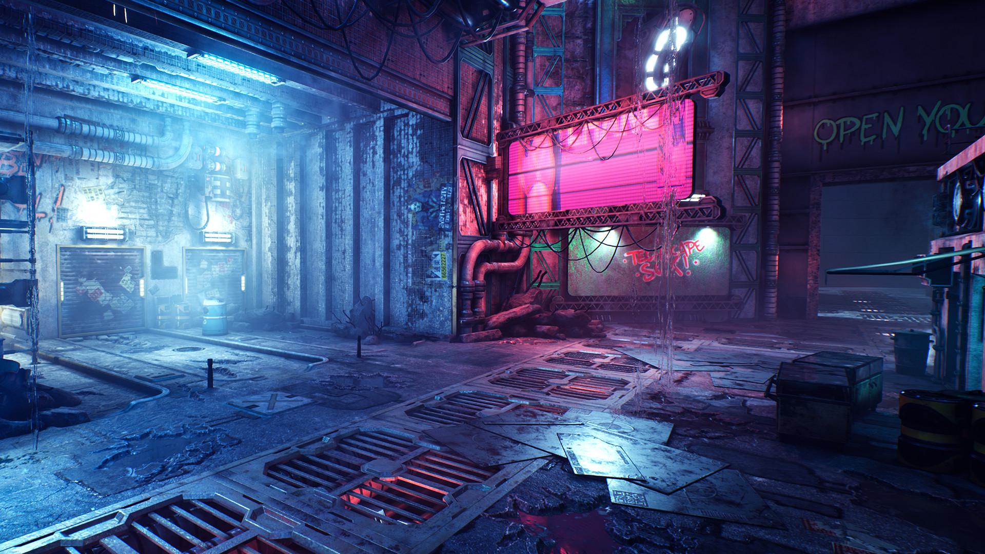 赛博朋克第一人称动作游戏《幽灵行者》公布 Steam支持简中
