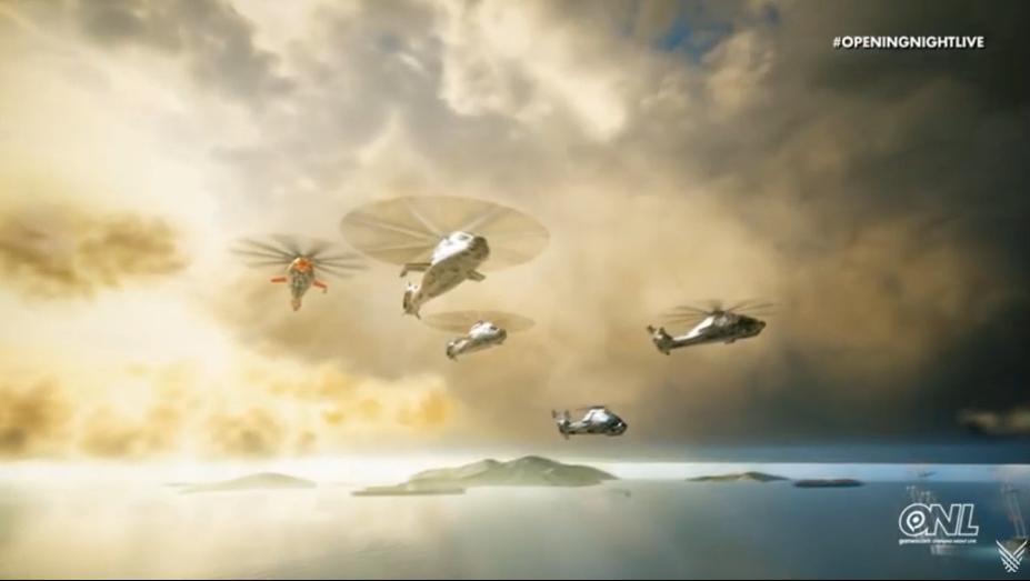 GC 2019:THQ新作《COMANCHE》公布 直升机多人空战