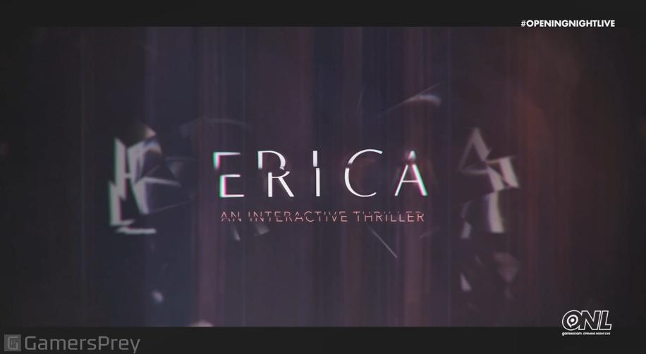 GC 2019:PS4真人互动游戏《Erica》已上线PSN