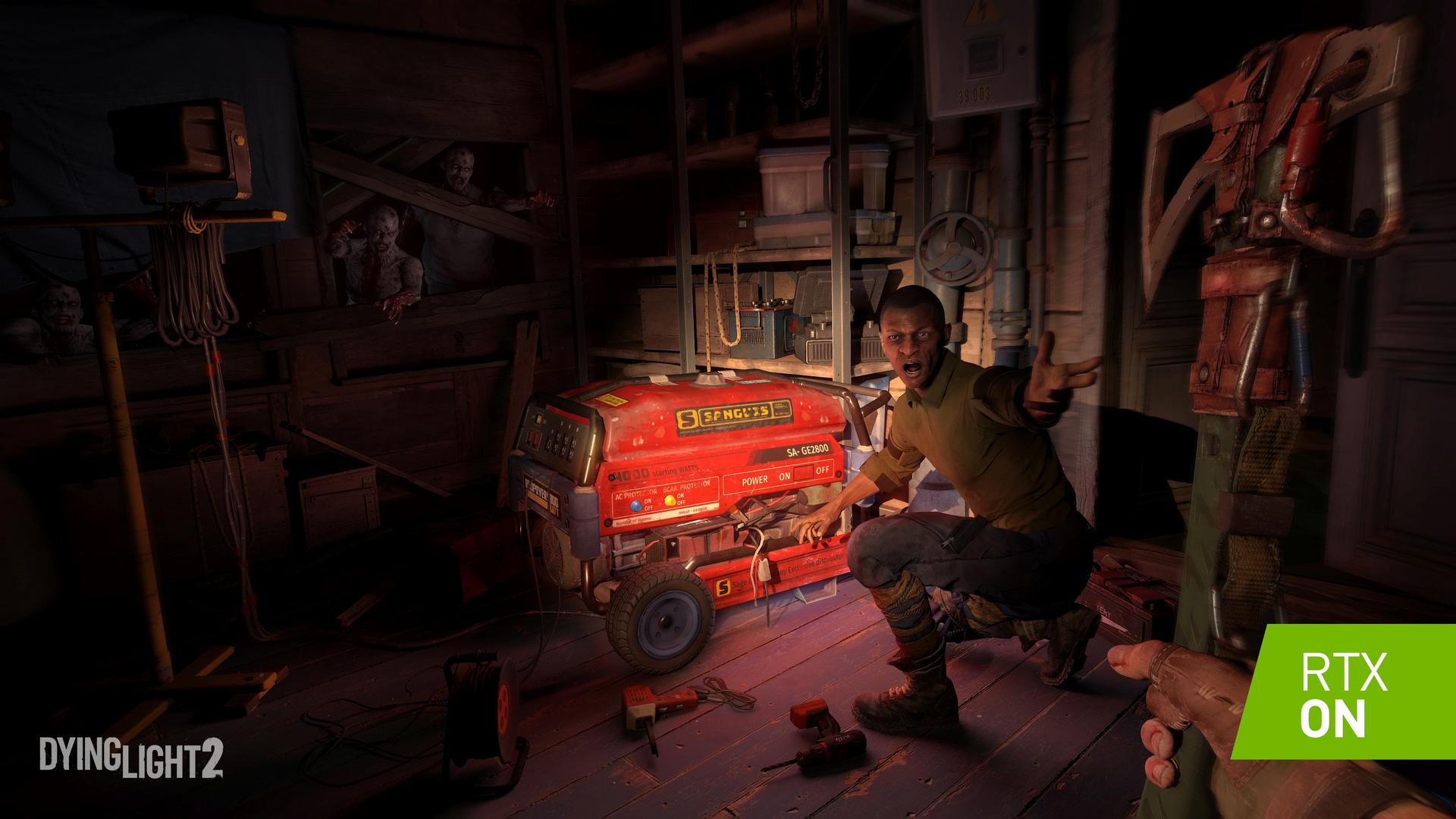 《消逝的光芒2》支持RTX光追技术 让游戏更加恐怖