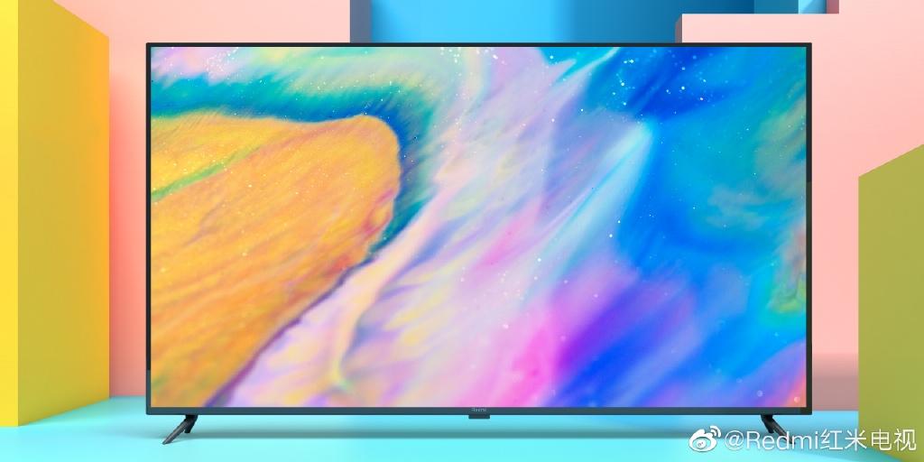 Redmi红米电视首露真容:70英寸极窄边 超高屏占比
