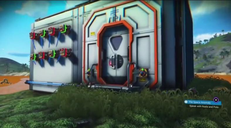 高手在民间!《无人深空》玩家在游戏中玩起解锁游戏