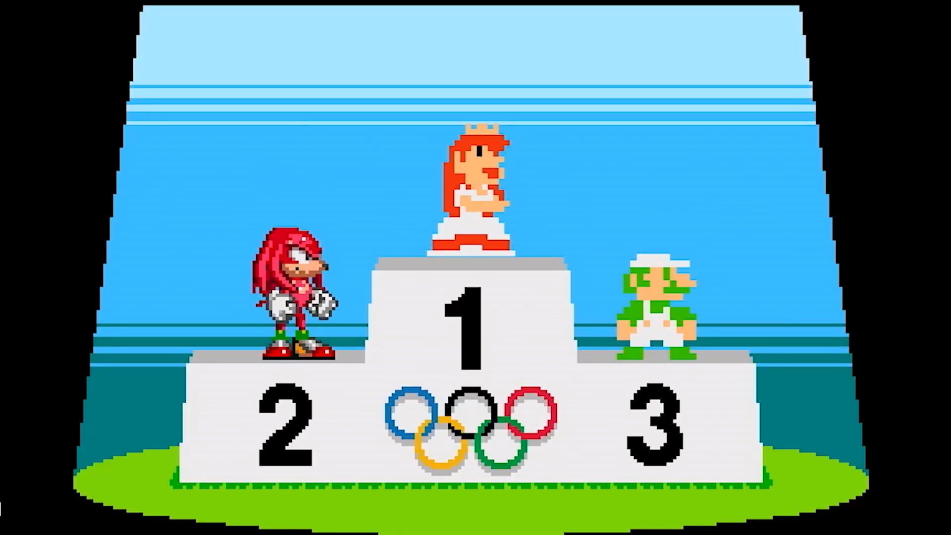 全程看桃花公主!《马力欧与索尼克AT东京奥运会》新增跨时代像素项目