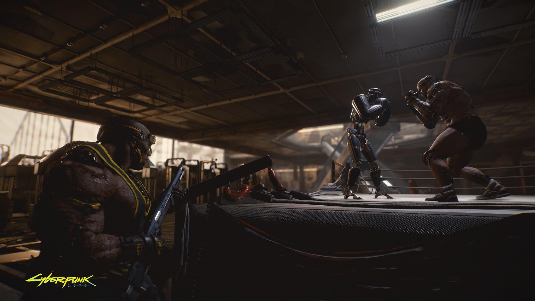 《赛博朋克2077》更多新截图 展示第一人称射击