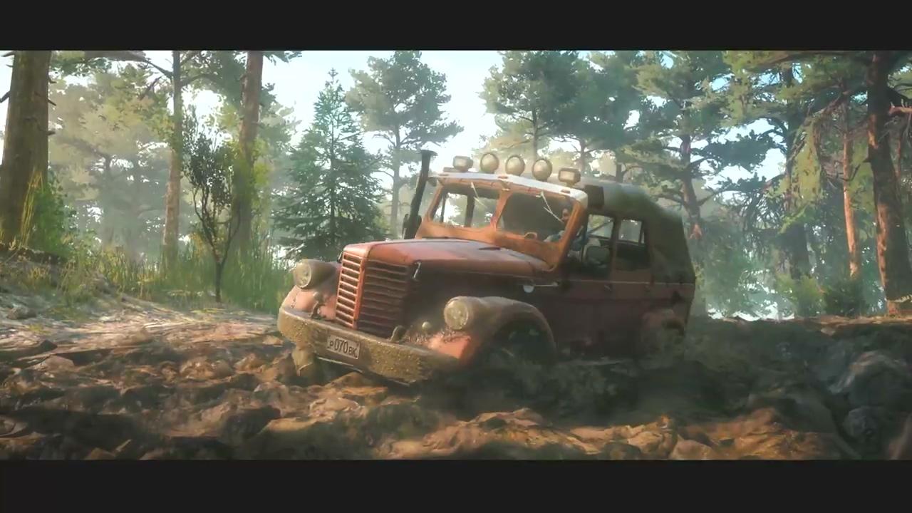 《旋转轮胎:泥泞奔驰》续作《雪地奔驰(SnowRunner)》公布 PC版Epic独占