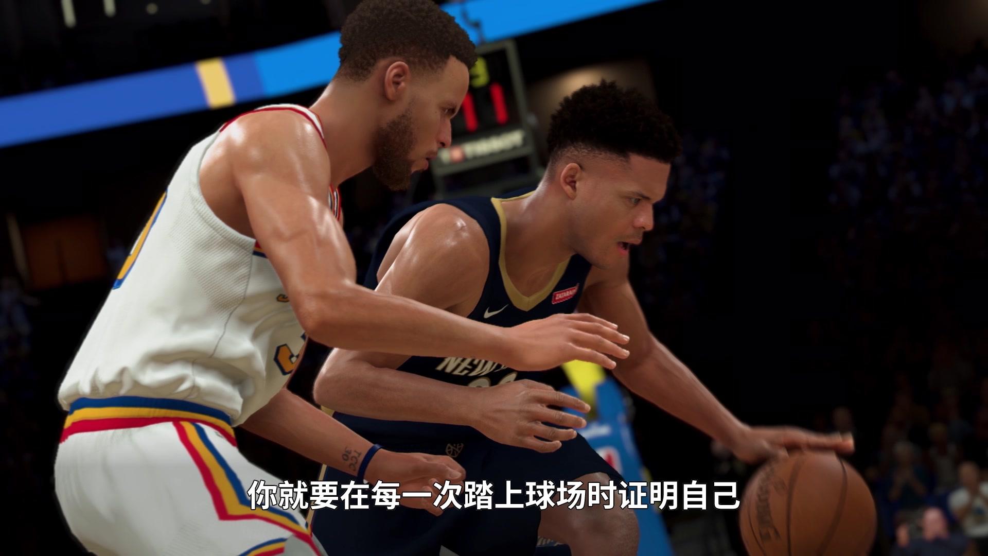 全新辉煌模式预告展示 《NBA 2K20》Demo试玩推出