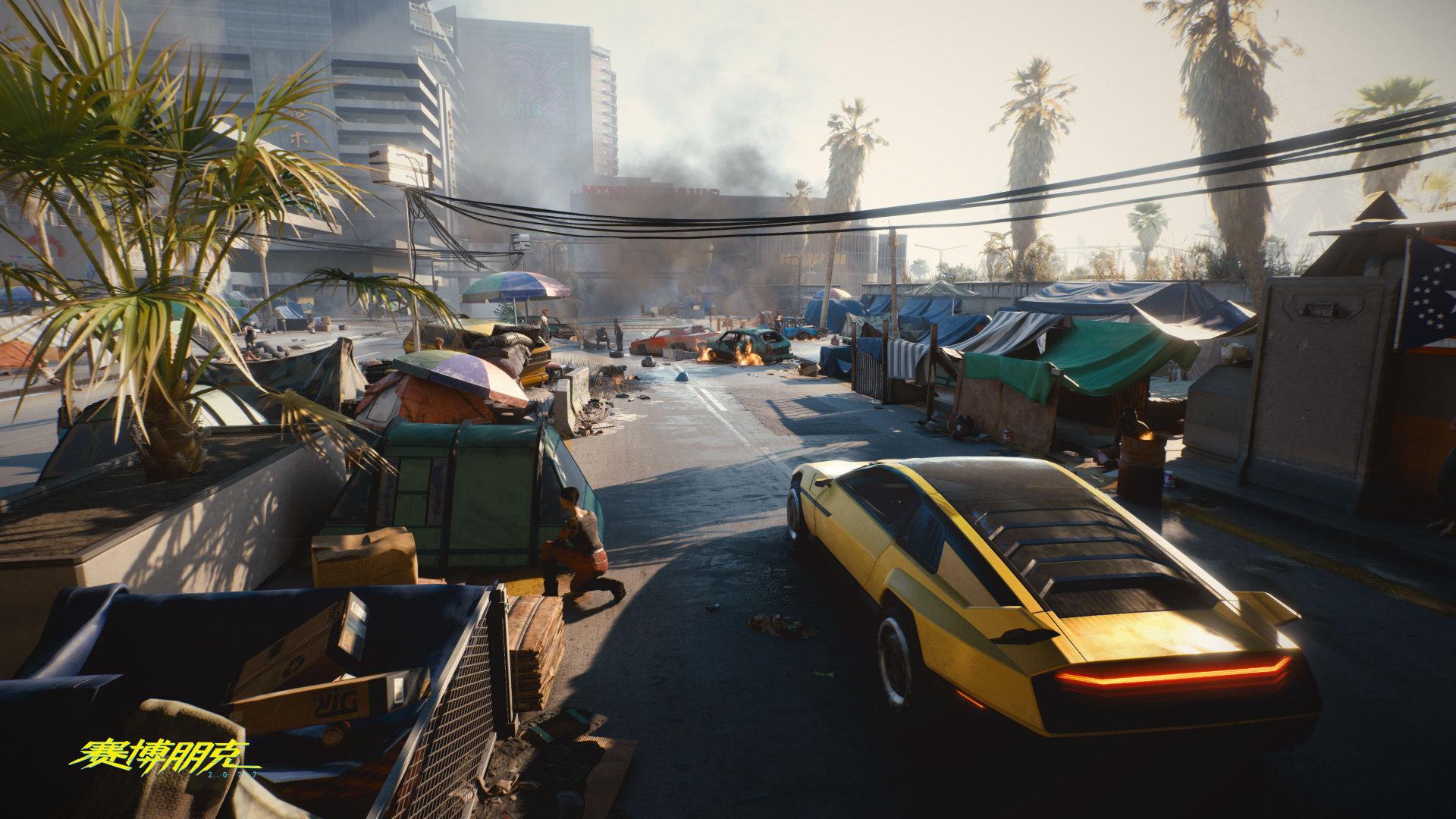 GC 2019:CDPR官方发布《赛博朋克2077》高清游戏截图 铃木裕现身展台