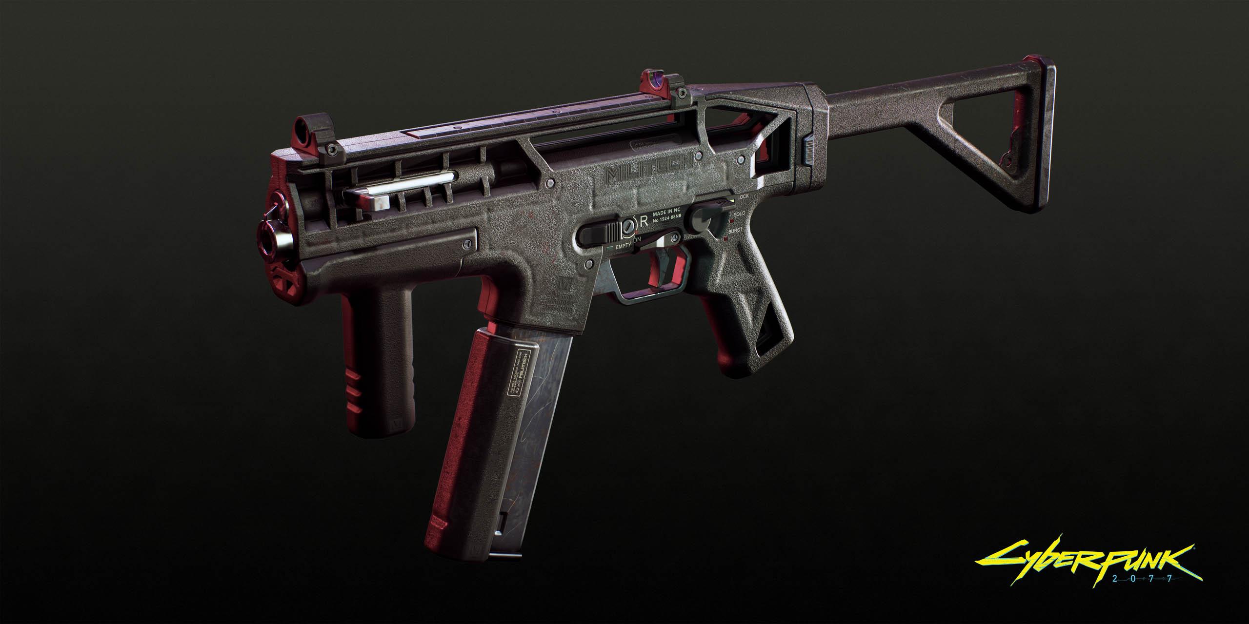 《赛博朋克2077》将有哪些枪械登场?来看看这些吧