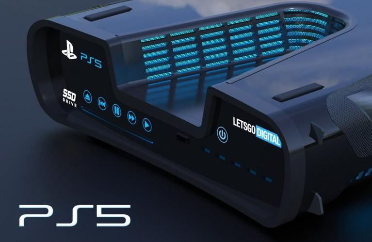 PS5开发机3D渲染图 看起来没那么突兀了