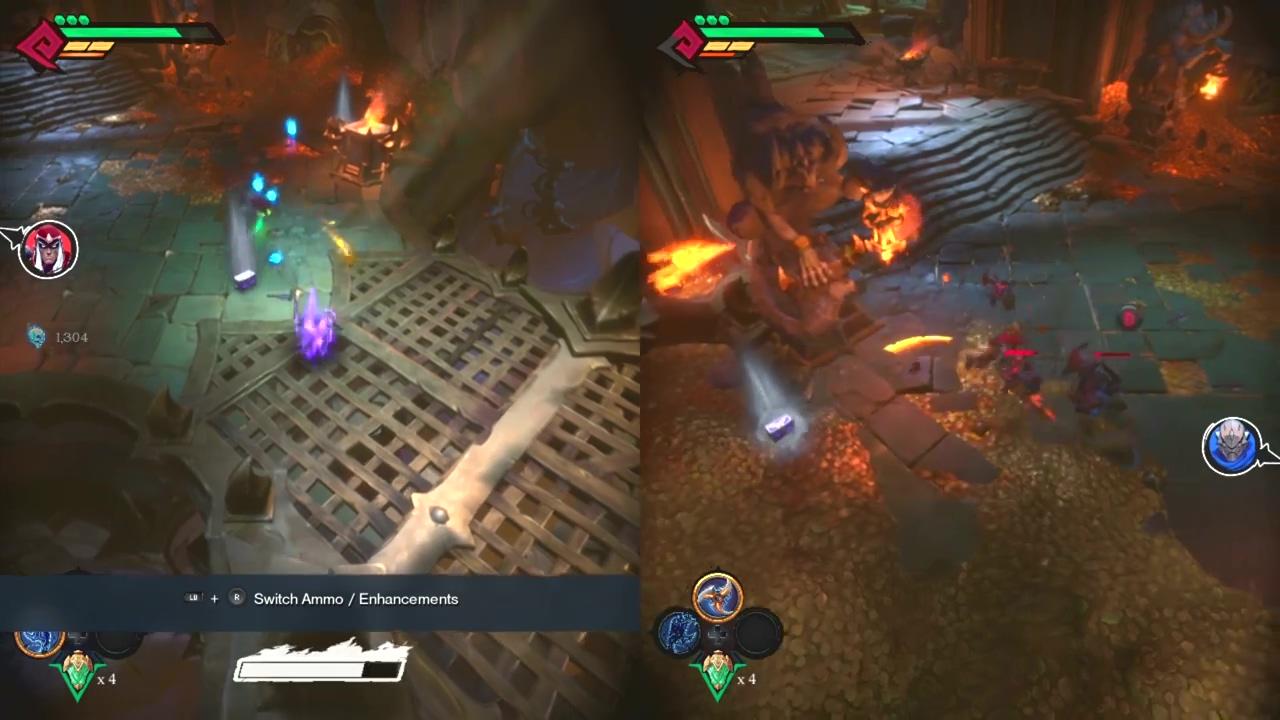《暗黑血统:创世纪》PC版16分钟试玩 本地合作模式展示
