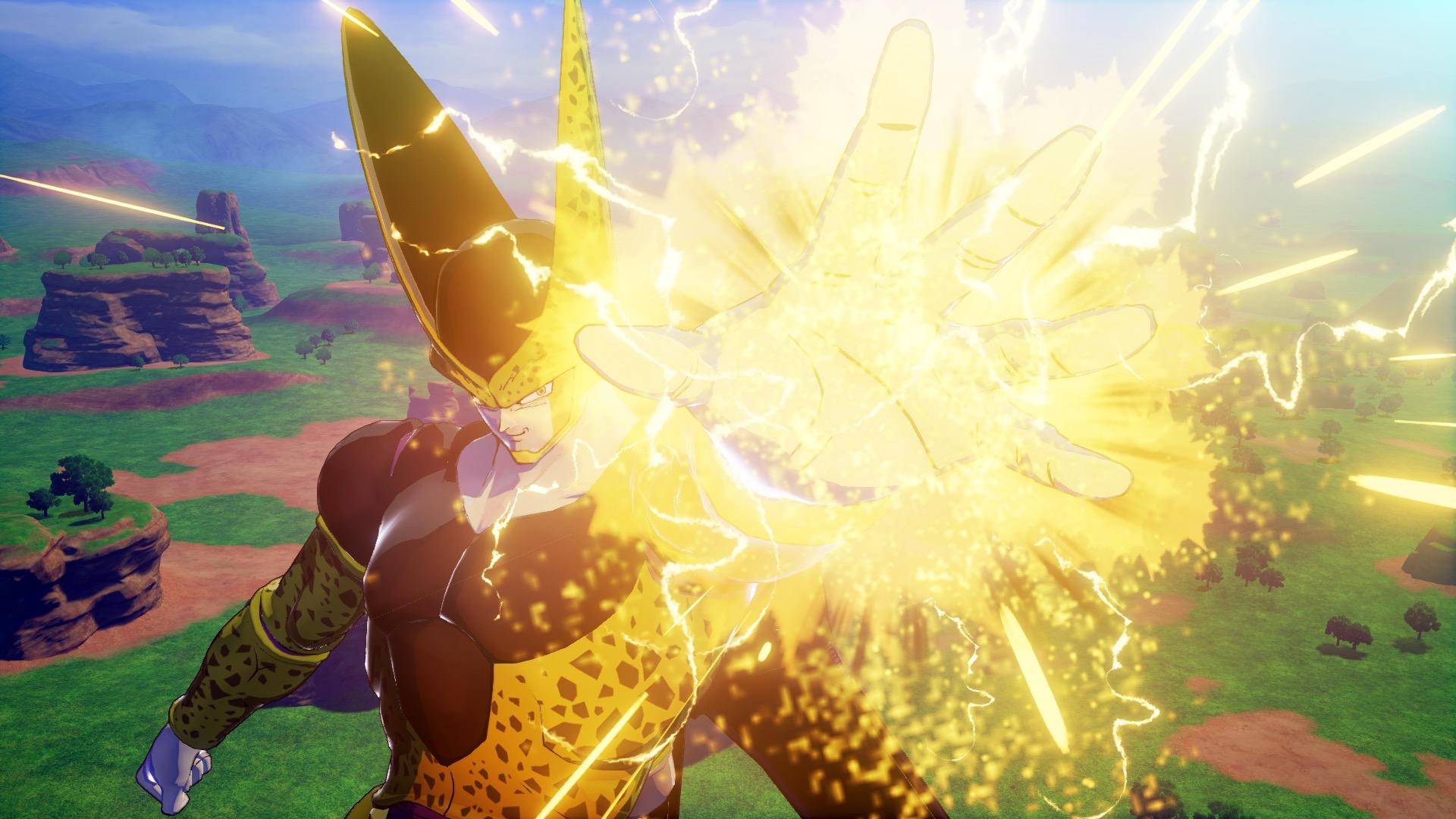 《龙珠Z:卡卡罗特》新截图和演示 孙悟饭激战沙鲁