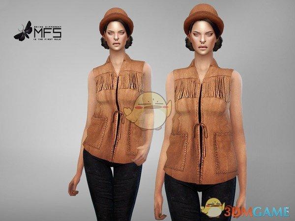 《模拟人生4》女性牛仔背心MOD