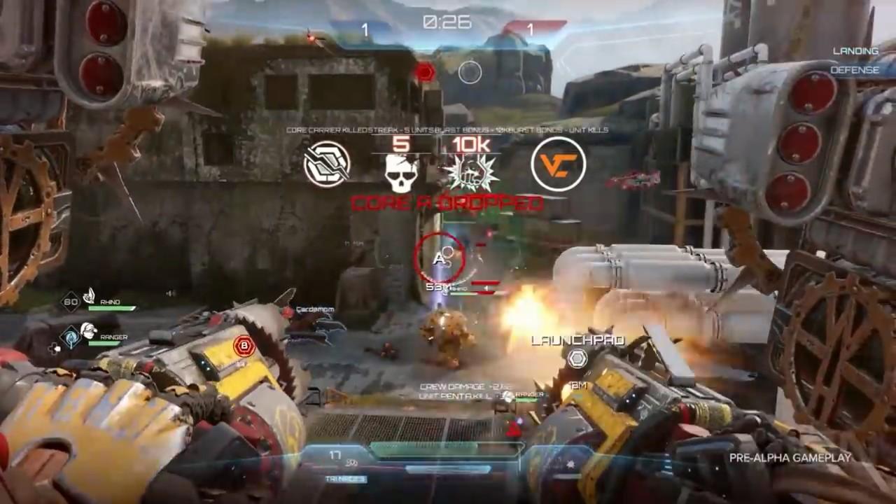 GC 2019:科幻机甲FPS《崩解》7分钟演示 《光环》创始人打造
