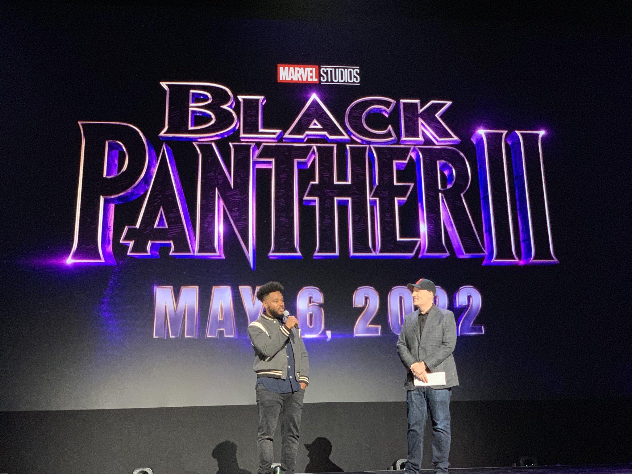 《黑豹2》官宣定档!《权游》雪诺、少狼主加盟MCU