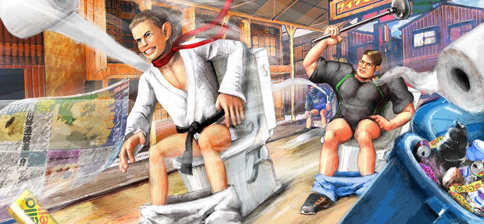 日本恶趣味游戏《激走!马桶竞速》正式发售 Steam国区28元