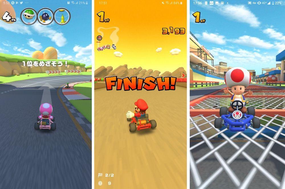 任天堂手游 《马里奥赛车Tour》 9月开服 登录安卓及iOS