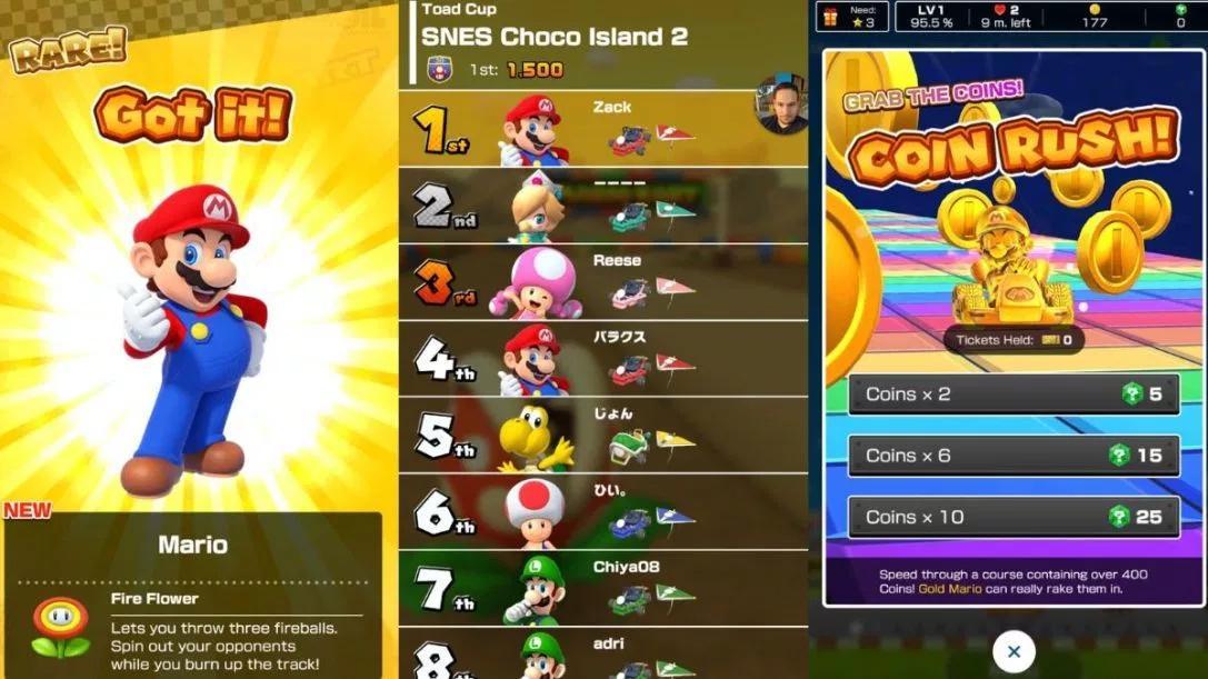 任天堂手游 《Mario Kart Tour》 9月开服 登录安卓及iOS