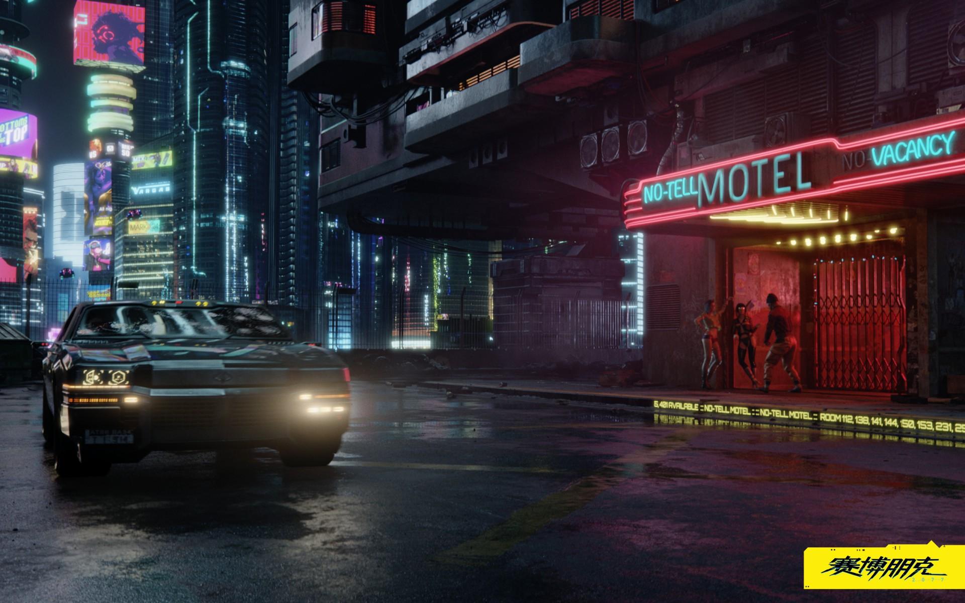 《赛博朋克2077》偶尔出现第三人称视角 照镜子看帅气主角