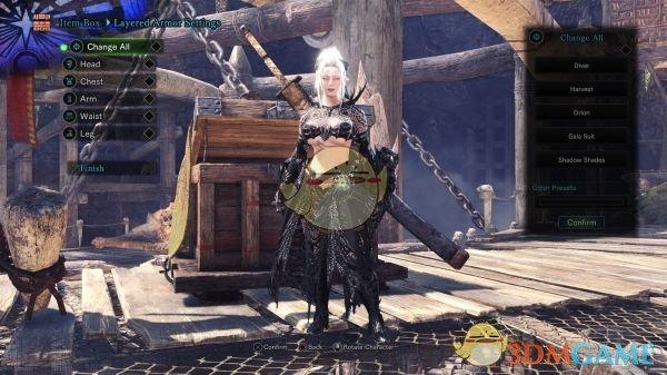 《怪物猎人:世界》奢华尸套龙套装MOD