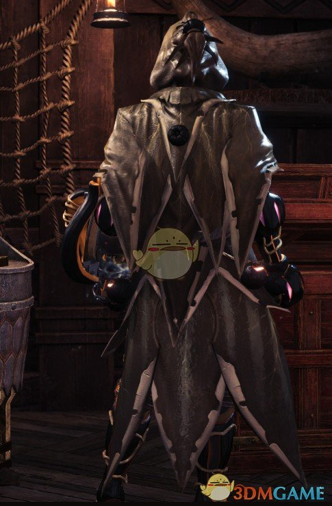 《怪物猎人:世界》万圣节幽灵套装MOD