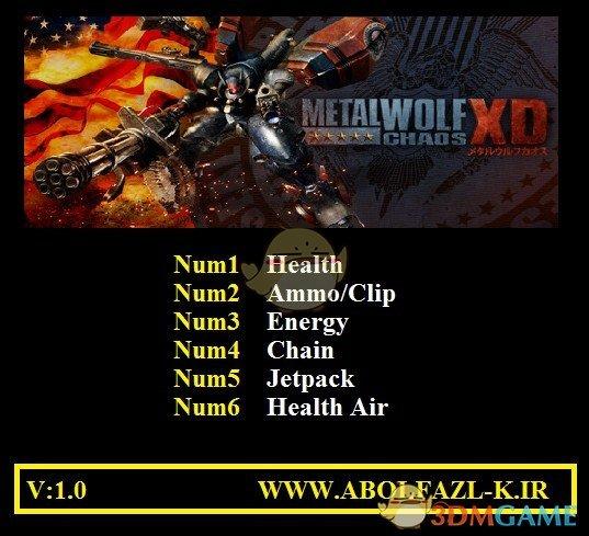 《钢铁苍狼:混沌之战XD》v1.0六项修改器[Abolfazl]