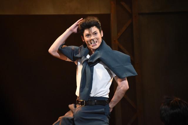 经典《幽游白书》舞台剧震撼开演 现场精彩照辣眼