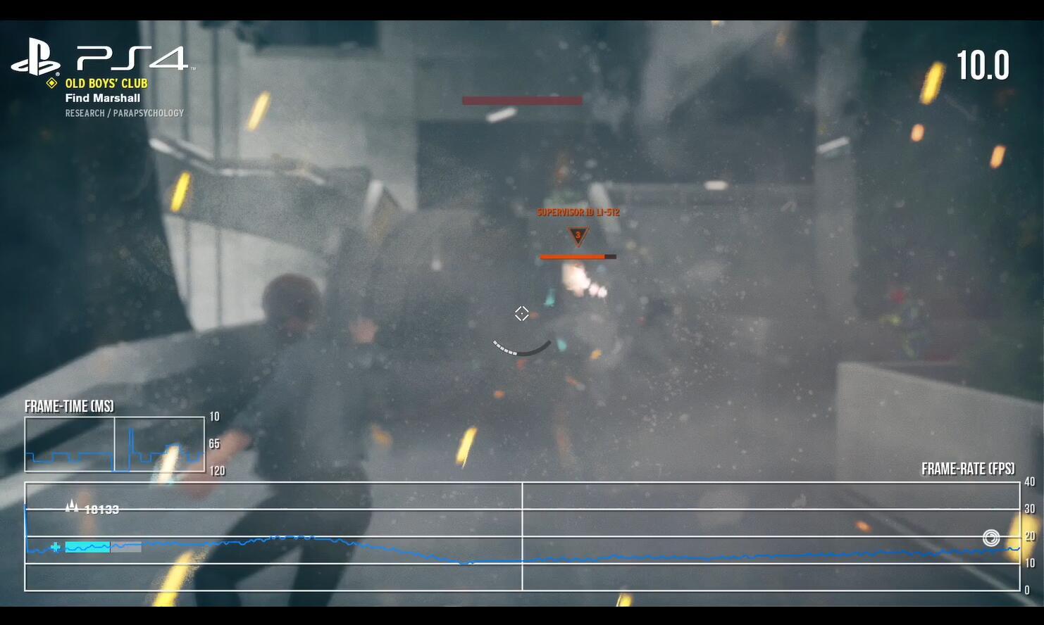 《控制》索软双主机平台优化堪忧 激战场景下滑至10帧!
